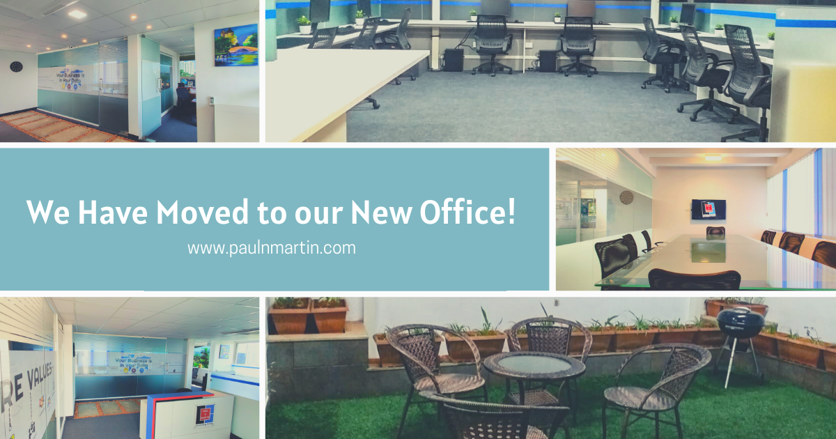 Moved to our new office